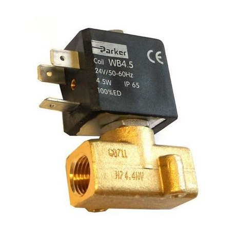 ELECTROVANNE PARKER JOINT VITON 2VOIES 4.5W 24V 50-60HZ - IQ661