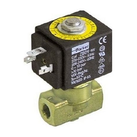 ELECTROVANNE PARKER 2VOIES 9W 220-230V 50-60HZ ENTREE 1/8F - IQ671