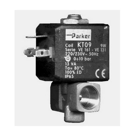 IQ677-ELECTROVANNE JOINT VITON 2VOIES 6W 220-230V AC 50-60HZ
