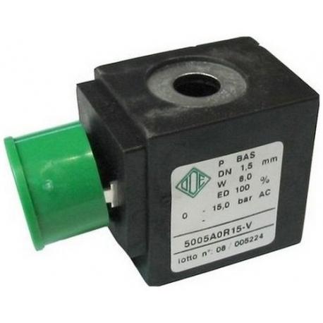 BOBINE D ELECTROVANNE 8W 24V AC GROSSE BOBINE - IQ680
