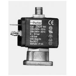 PARKER 3-WAY SOLENOID VALVE 220-230V AC 50-60HZ LARGE COIL