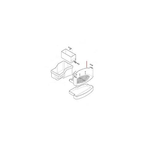GRILLE ZONE DE DISTRIDBUTION - MQN275