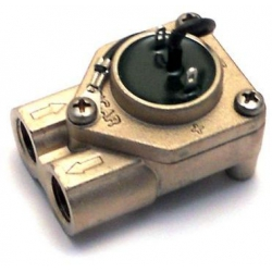 FLOWMETER GICAR OUT - + WITH YARN 1/4 2 TERMINALS GENUINE