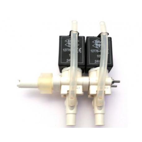 BLOC-2-ELECTROVANNE ERA 2VOIES 10W 24V CC ENTREE 12MM - IQN290