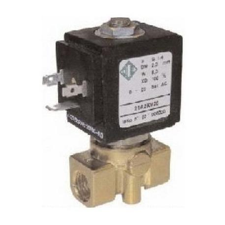 ELECTROVANNE ODE 2VOIES 8W 220-230V AC 50-60HZ ENTREE 1/4F - IQN6088