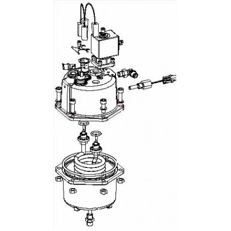CHAUDIERE COMPLETE ATLANTE500 ORIGINE SAECO - FRQ8717