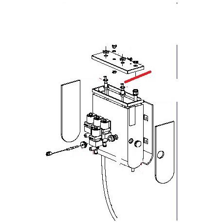 RESISTANCE CHAUDIERE 230V 2000W - FRQ8710