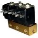 BLOC 3 VANNES 220V 1/8 0-15BAR - IQN660