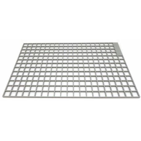 FQ7592-GRILLE PORTE TASSE PLASTIQUE L:255MM L:178MM