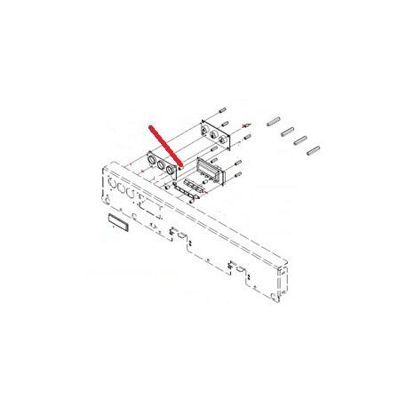 ESPACEUR 4.2X8 H:12MM NYLON ORIGINE SIMONELLI - FQ7594