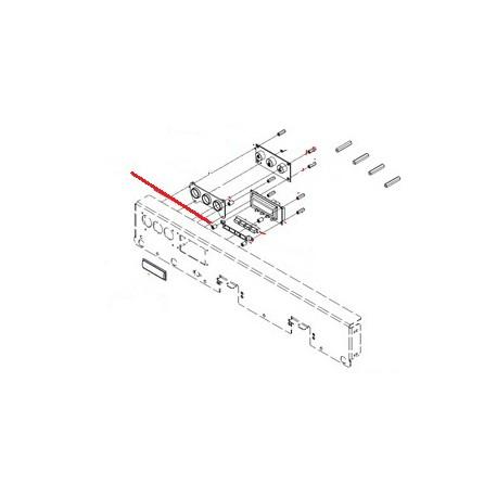 ESPACEUR 6X4 H:10MM NYLON ORIGINE SIMONELLI - FQ7505