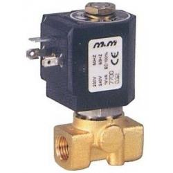 ELECTROVANNE M&M 2VOIES 14W 24V CC ENTREE 1/8F SORTIE 1/8F - IQN6758