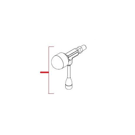 ROBINET EAU CHAUDE LONG COMPLET ORIGINE SIMONELLI - FQ7549