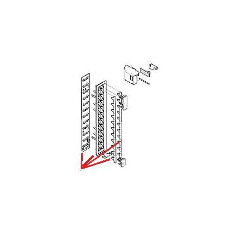 PANNEAU BOUTONS-POUSSOIRS SEL.COMPLET - MQN430