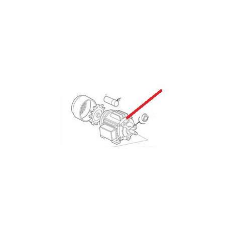 COUVRE VENT ELECTROPOMPE ZF40V-ZF340V ORIGINE ITW - PYQ25