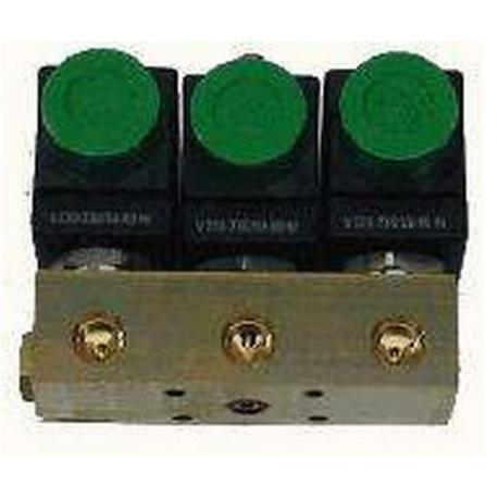 BLOC-3-ELECTROVANNES 2+3+2 ODE 230V NECTA 098761 ORIGINE - IQN762