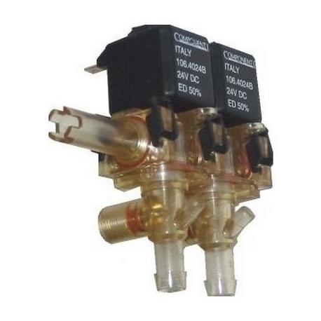 BLOC-2-ELECTROVANNE COMPONENTI 2VOIES 230V AC 50HZ - IQN840