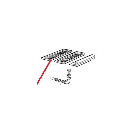 COUDE 2' POUR TROP PLEIN AC - PQQ133