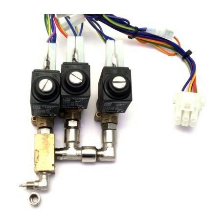 BLOC-3-ELECTROVANNE ENTREE 2X4 MONTAGE VIS 2VOIES 230-240V - NR0710