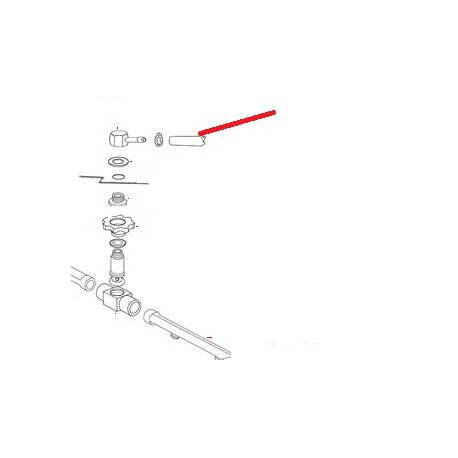 TUBE CONDUITE DE JONCTION ORIGINE ITW - PYQ38