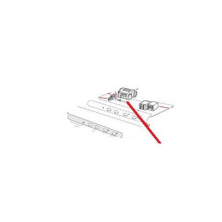 MEMBRANE POLYCARBONATE POUR LAVE VAISSELLE STEEL 51 ORIGINE ITW - PYQ46