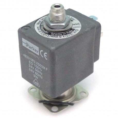 ELECTROVANNE PARKER RUBIS INOX NSF LIQUIPURE 9W 3VOIES 24V - IQ613