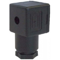 CONNECTOR FOR LARGE COIL SOLENOID VALVE & 3-POLE VIBRATION PUMP