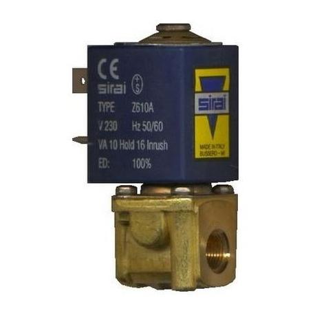 ELECTROVANNE SIRAI 2VOIES 10W 230V AC 50-60HZ ENTREE 1/8F - Y626O68