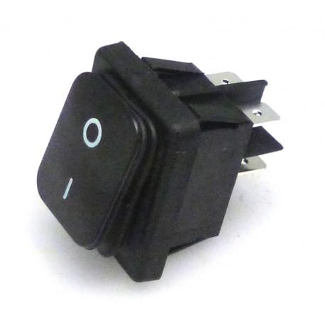 INTERRUPTEUR NOIR ETANCHE 250V - TIQ8250