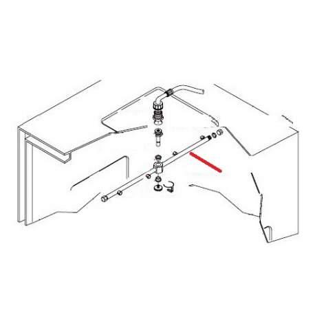 BRAS DE RINCAGE COMPLET C320 C327 ORIGINE KRUPPS - XEHQ6587