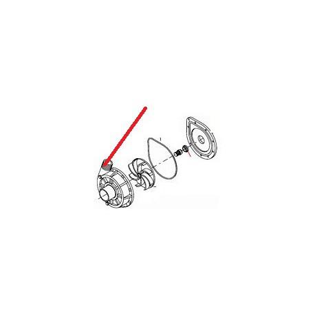 COUVERCLE DX POUR ELECTROPOMPE ORIGINE ITW - PYQ682