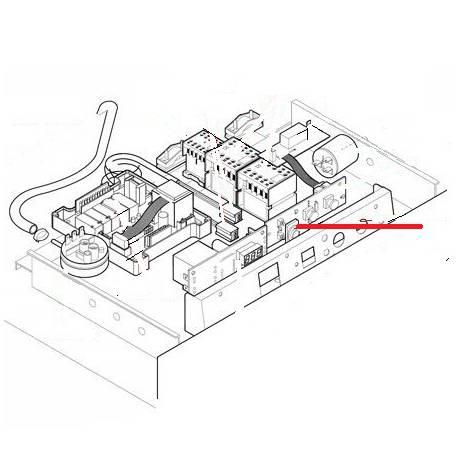 COUVRE BOUTON LUMINEUX 6.9.98.13 F92EK ORIGINE LAMBER - TIQ10373