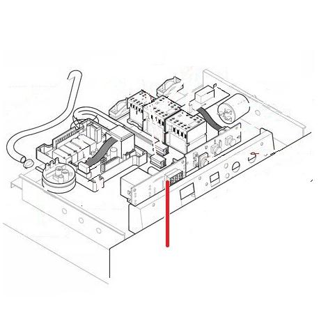 THERMOMETRE DIGITALE A 2 TEMPERATURES - TIQ10385