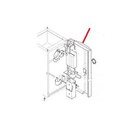 PORTE DU MEUBLE COLIBRI POUR SYSTEME DE PAIEMENT COULEUR  - MQN6547