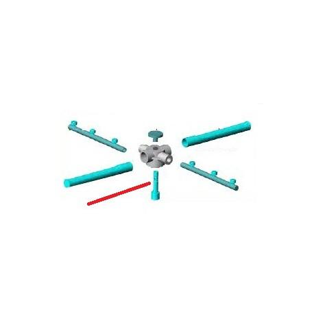 AXE INOX POUR BARLINE35 ORIGINE ALFA-ELVIOMEX - TIQ10316