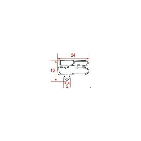 JOINT MAGNETIQUE BEV32 A ENCASTRER L:1450MM L:575MM - TIQ10398