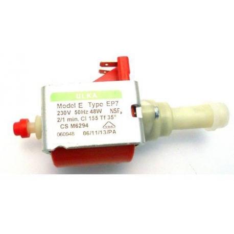 POMPE ULKA EP7 VIBRANTE SORTIE TEFLON 230V PRESSION 7BAR - IQN6116
