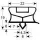 JOINT MAGNETIQUE AVEC EMBOITEMENT L:756MM L:690MM ORIGINE - SEQ044