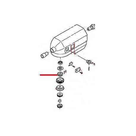 ENGRENAGE ENTREE PETITE VITESSE ORIGINE THUNDERBIRD - GUQ6712