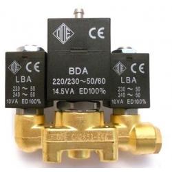 BLOC-3-ELECTROVANNE INOX ODE 2+3+2 NECTA 254802 ORIGINE