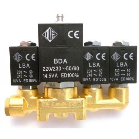 BLOC-4-ELECTROVANNE INOX ODE 2+2+3+2 NECTA 258767 ORIGINE - MQN6615