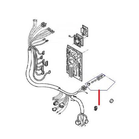PORTE-FUSIBLE SCHURTER ORIGINE - MQN6621