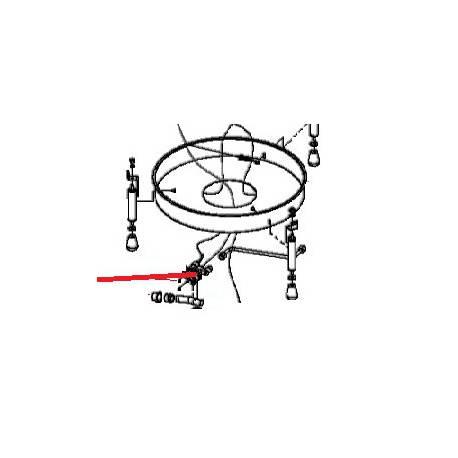 THERMOSTAT GAZ CREPIERE CGBIC5 ORIGINE KRAMPOUZ - XEQ6655