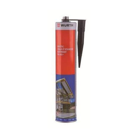 COLLE WURTH PU40+ CARTOUCHE 310ML TECK TMINI -40°C TMAXI 90° - TIQ66754