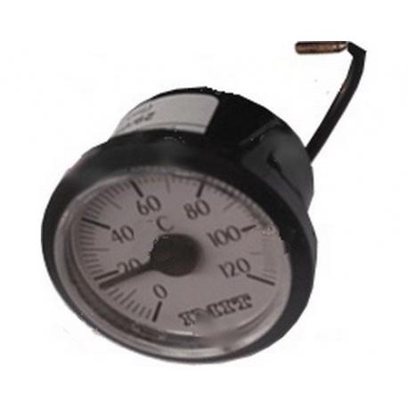 THERMOMETRE í60MM BLANC TMINI 0°C TMAXI 120°C CAPILAIRE 3000 - TIQ10411