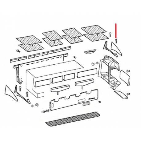 ENJOLIVEUR DE JOUE DROITE E91 AMBASSADOR ORIGINE CIMBALI - SQ6707