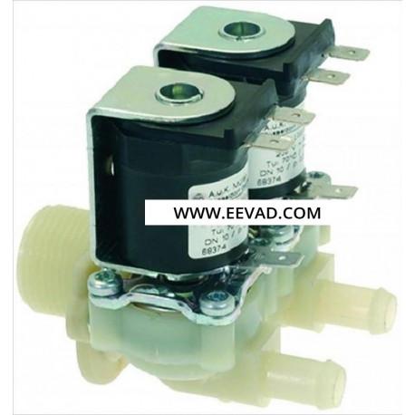 ELECTROVANNE 2VOIES 230V 50HZ ENTREE 3/4M SORTIE 10MM TMAXI - TIQ11559
