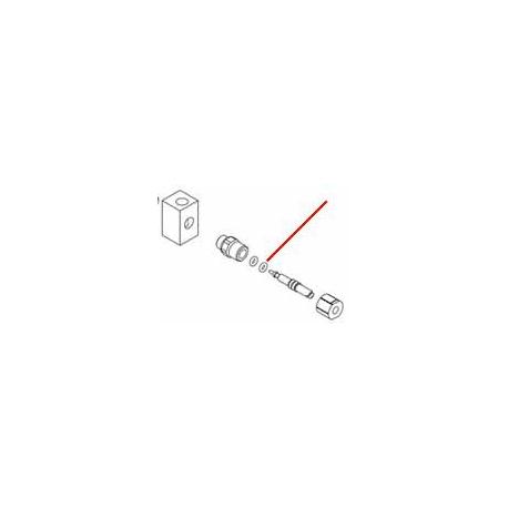 JOINT TORIQUE ØEXT:3.4MM EPDM 70SH EPAISSEUR 1.9MM - ERQ6737