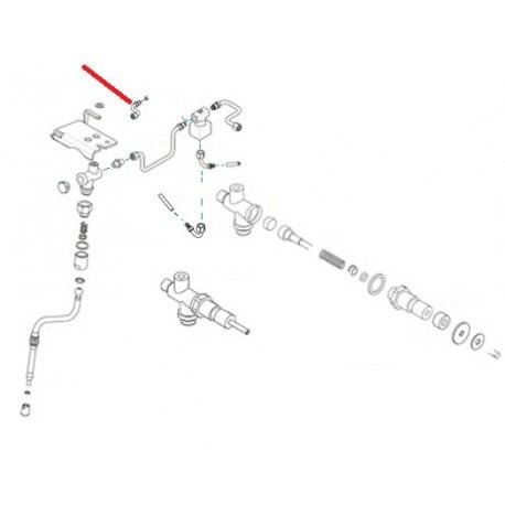 TUBE VAPEUR DROIT LIFE 2-3 GROUPES ORIGINE RENEKA - ERQ6744