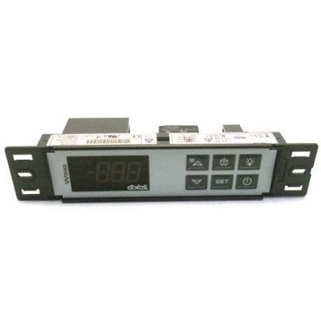 REGULATEUR DIXELL XW20LS 185X38X PROFONDEUR48MM NTC/PTC 230V - TIQ11569